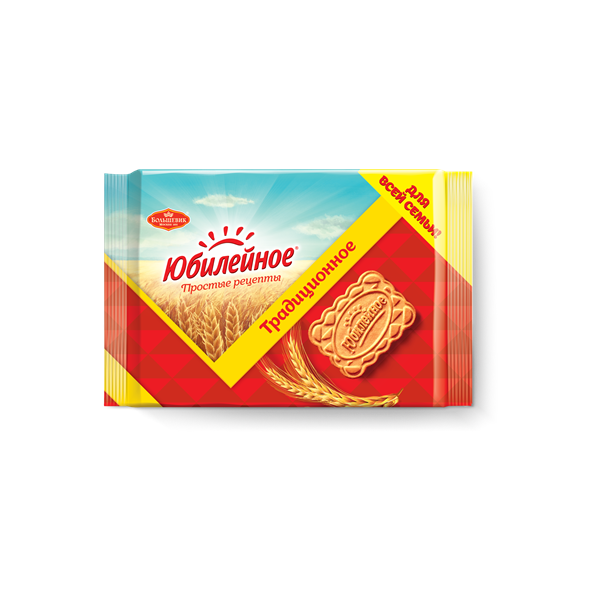 Печенье Юбилейное Традиционное витаминизированное, 134 г