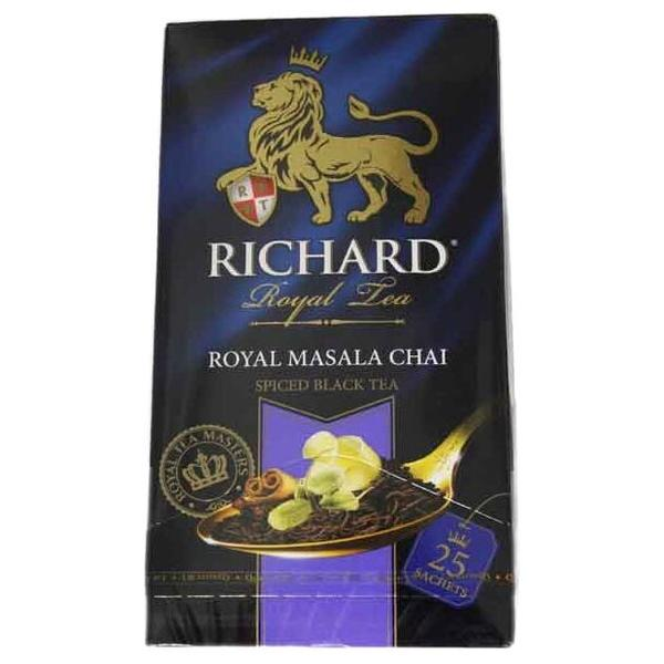 Чай черный Richard Royal masala chai в пакетиках