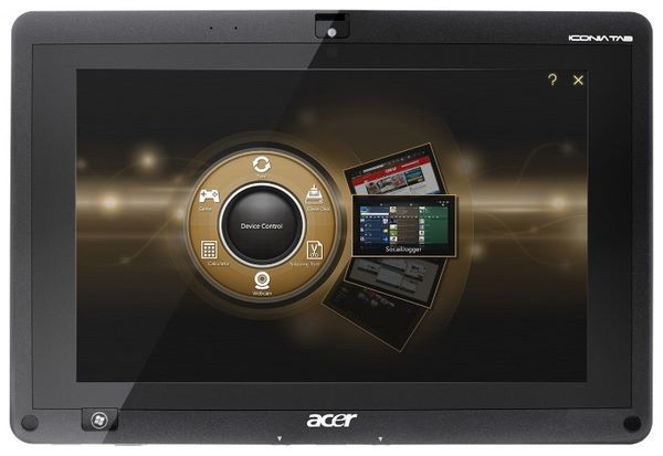 Acer Iconia Tab W501P dock AMD C60