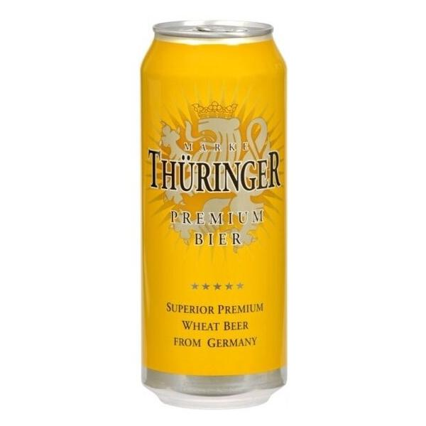Пиво Thuringer Weissbier, in can, 0.5 л