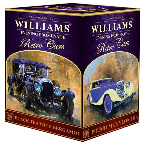 Чай черный Williams Retro cars Evening promenade